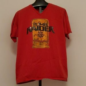 Tomb Raider Disney Jerry Leigh Rare T-Shirt Sz XL